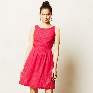 Anthropologie Rhododendron Dress